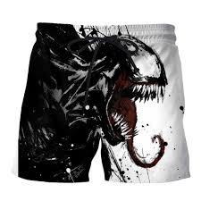 PLstar Cosmos NEW Movie Spiderman <b>Venom</b> Villain Skull Tees 3D ...