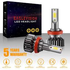 <b>2pcs H1 H4 H7</b> H8 9005 9006 High Power EV8 LED Headlight ...