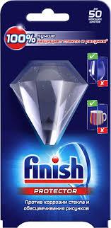 <b>Средство</b> для посудомоечных машин Finish для <b>защиты стекла</b> и ...