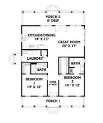 Ranch homes  Square feet and Small house floor plans on PinterestJust a little bigger all the way around      add a