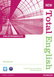 New <b>Total English Pre-Intermediate Workbook</b> without Key and ...