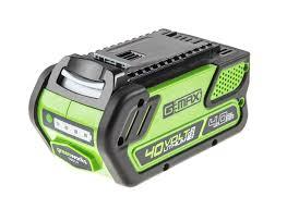 Li-Ion <b>Аккумулятор Greenworks</b> G-MAX 40V 4 А/ч G40B4 ...