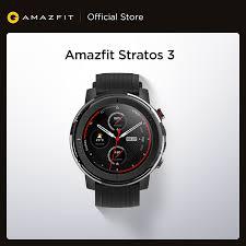 IN Stock <b>Global Version New Amazfit</b> Stratos 3 Smart Watch GPS ...