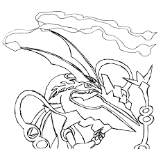 mega essay mega pokemon rayquaza coloring pages