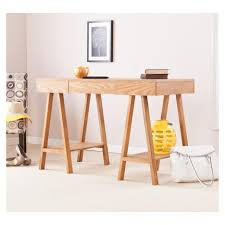 the typical of pine wood simple and chic home office furniture of light pine wood chic wood office desk