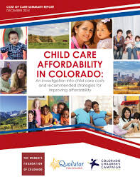 child care prices and affordability about the child care cost project