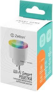 Купить умная <b>розетка Zetton Smart</b> Plug 16A RGB > цены Zetton ...