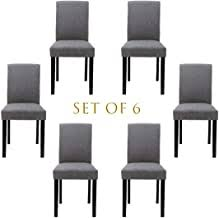 dining chairs set of 6 - Amazon.com
