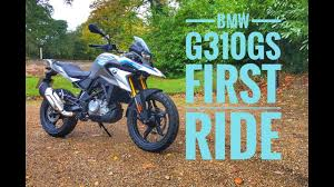 2018 <b>BMW G310GS</b> Review - YouTube