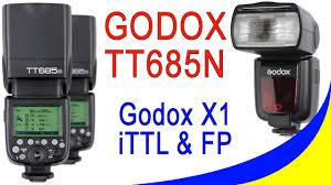 <b>Godox</b> TT685N <b>i-TTL</b> Speedlite For Nikon - обзор и Распаковка ...
