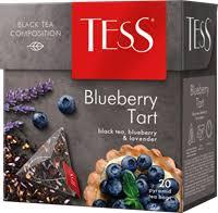 <b>Чай черный</b> TESS Tart с ароматом <b>лаванды</b> яблоком и черникой ...