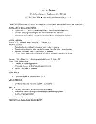medical assistant objective sample wearefocusco resume objective medical assistant resume samples ziptogreen com ma resume examples ma resume objective examples special ma resume