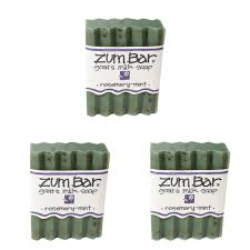 Indigo Wild: <b>Zum Bar Goat's Milk</b> Soap Bar, Rosemary Mint 3 oz (3 ...
