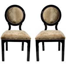 modern art deco furniture pair of luxe art deco occasional chairs in embossed python velvet art deco desk chair office side armchair
