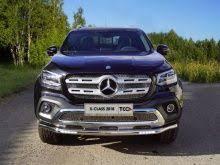 <b>Защита передняя нижняя (с</b> ДХО) 60,3 мм | Mercedes X-Class | ТСС