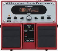 VE-20 | Вокальный процессор - BOSS