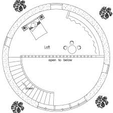 Two Story Roundhouse PlanTwo Story Earthbag Roundhouse