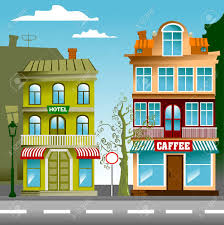 Image result for small town clipart
