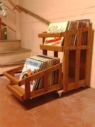 vinyl record storage im gonna get on building one of these for myself front shot finished vinyl record
