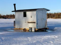 Fish House Plans and Building Supplies   The Only Plans on the    Buy or Build a Ice Fishing House