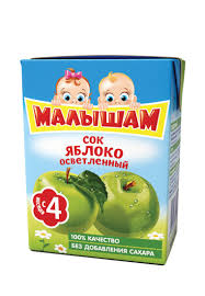 <b>Сок фрутоняня малышам яблочный</b> осв. 0,2л. ФН Малышам от ...