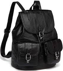 Backpack <b>Womens</b>, Vaschy PU <b>Leather</b> Backpack Purse <b>Fashion</b> ...