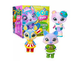 <b>Фигурка</b>-<b>сюрприз S.O.S Pets</b> Милые зверята купить в детском ...