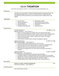 unforgettable commercial  s pro resume examples to stand out    commercial  s pro resume sample