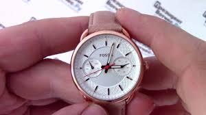 <b>Часы Fossil</b> ES4007 - видео обзор от PresidentWatches.Ru ...