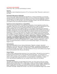 resume professional profile examples example of cv for resume profile resume examples 6b7f2e6cf the personal profile resume examples