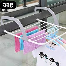 Folding <b>Balcony Drying</b> Shoe Rack Portable <b>Window Drying</b> Rack ...