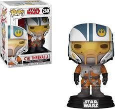 <b>Фигурка Funko POP</b>! Bobble: Star Wars: The Last Jedi: C'ai Threnalli ...