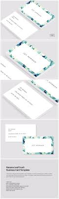 best ideas about business card design business banana leaf crush business card