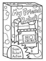 Small Picture 20 Cute Free Printable Robot Coloring Pages Online Robot Maker