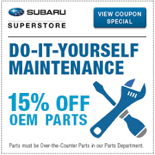 <b>Subaru</b> Parts Specials | <b>Subaru</b> Superstore in Chandler | Near ...