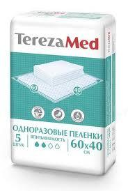 <b>TerezaMed пеленки одноразовые</b> 60х40 см N 5 купить в Пермь ...
