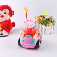 Cartoon Doraemon Cute Pink pig <b>Remote Control</b> Electric toys <b>car</b> ...