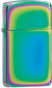 """<b>Зажигалка Zippo</b> """"Slim"""", цвет: разноцветный, 3 х 1 х 5,5 см. 24378 ..."""