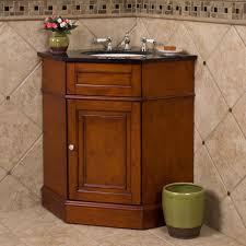 alluring wooden corner bathroom vanity with two drawers also black countertop plus sink alluring bathroom sink vanity cabinet