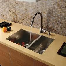 undermount kitchen sink stainless steel: vigo vgbl  gauge stainless steel undermount   double bowl kitchen sink  x  x