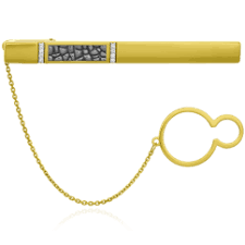 Купить золотые <b>зажимы</b> для галстука | Мужские дизайнерские ...