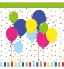 <b>Салфетки</b> сервировочные <b>Duni Balloons And</b> Confet 33х33см, 3 ...