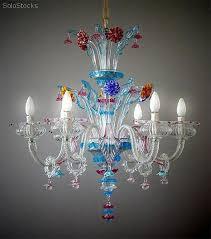Lampadario Murano Rosa : Lampadario luci san pietro lampadari made in italy vetro di