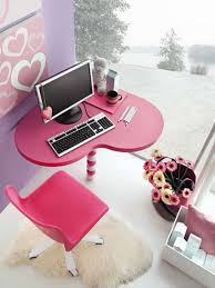 lovely cute teenage girls bedroom decorating ideas lovable candy pink love shape wooden computer desk bedroomlovable bedroom furniture teen girls extraordinary