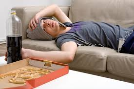 Image result for Lazy kid studying?