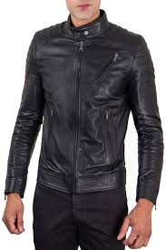 <b>Кожаная куртка AD MILANO</b> арт 0026_BLACK BLACK ...
