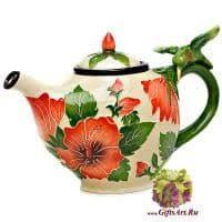 Заварочный чайник фарфоровый. Конечно чудо-чайник!