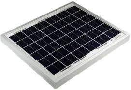 HI-SAFE <b>SOLAR PANEL 20W</b>-<b>12V</b> MONOCRYSTALLINE Solar ...