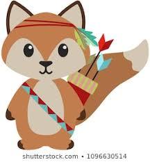 <b>Woodland Tribal Animals</b> Images, Stock Photos & Vectors ...