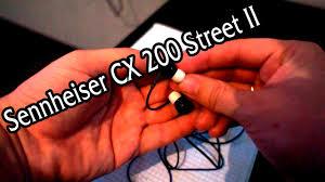 <b>Наушники Sennheiser CX200</b> Street II серые, отзыв - YouTube